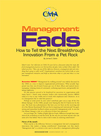 Management Fads Article